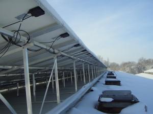 solarbauAnlage im Schnee 04